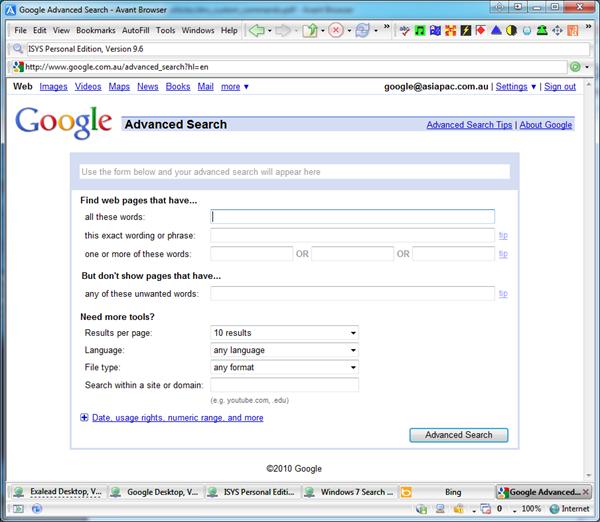 Google Desktop Search Review